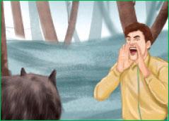 حمله گرگ